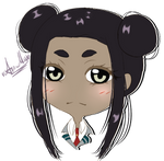 Chibi Headshot commission for PotatoLordX 2/3 by AimiMay