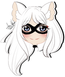 Chibi Headshot commission for FoodAssassinClive by AimiMay