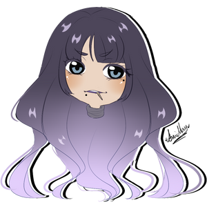 Chibi Headshot commission for chinmii by AimiMay