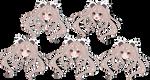 Multiple Expression Chibi headshot for YugoBanana