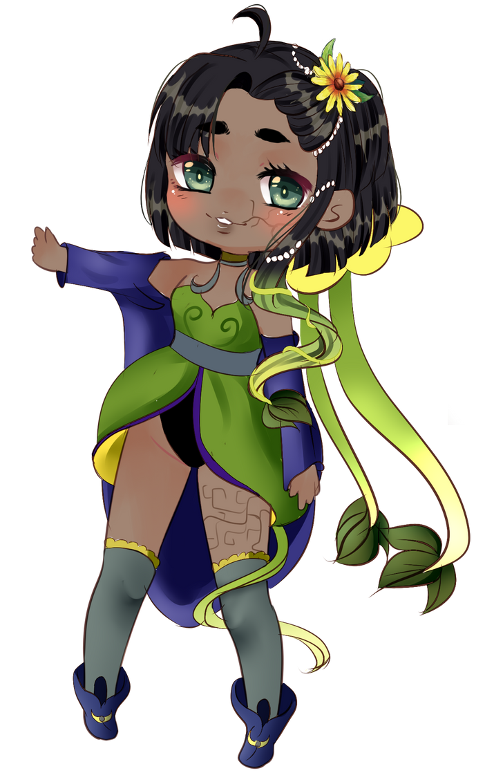 YCH Chibi for WhiteMageHealer by AimiMay