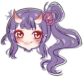 Chibi Headshot commission for Zeiyuu