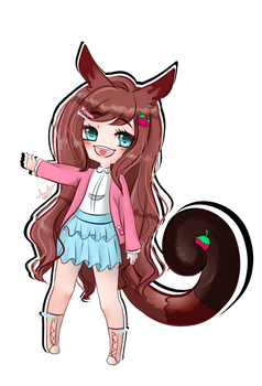 YCH Chibi for Roseofshadows853