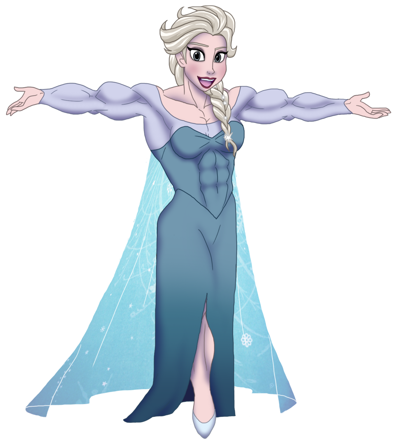 Powerful Elsa by DepravedDefense on DeviantArt