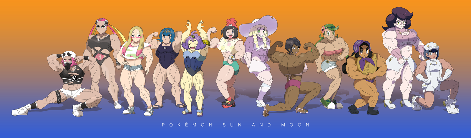 Pokemon 20th Anniversary FBBs - Sun and Moon by DepravedDefense