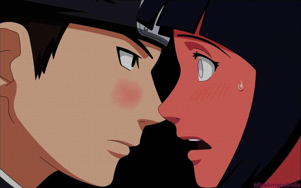 KibaHina - Naruto Couples Wiki |Kiba And Hinata Kissing