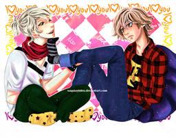 Alex and Domingo - Love Love by Saayi--san