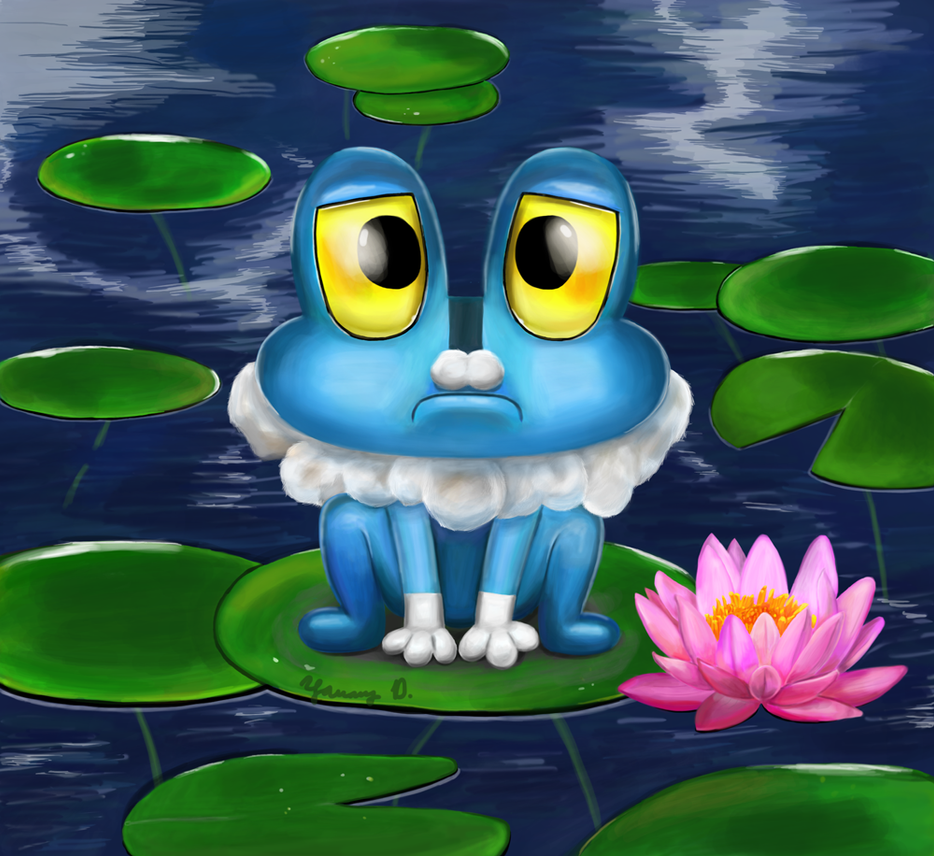 A Froakie In Need By Yanang On Deviantart