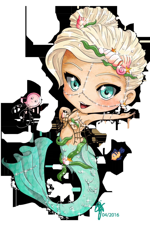 Mermaid Chibi By OOCrazyKittyOo On DeviantArt