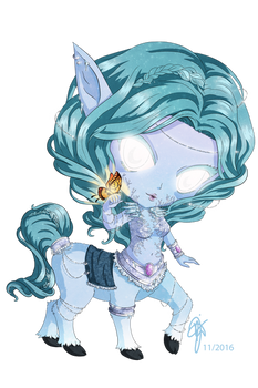 World of Warcraft Creatures: Frost Nymph