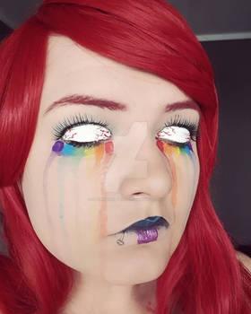 Becoming the Canvas: Rainbow Tears