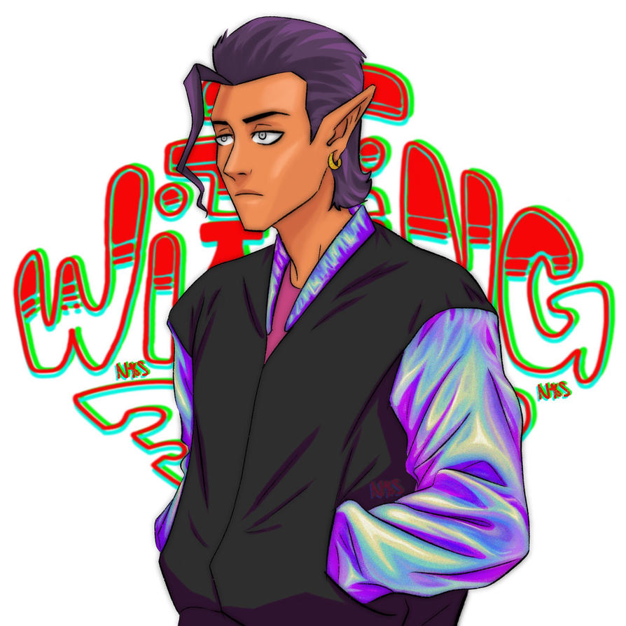 Holographic WittingTag by Nekgesild