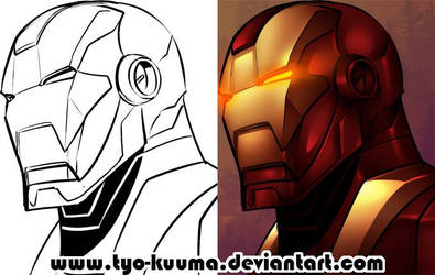 IRON MAN progress by Tyo-Kuuma