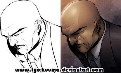 LEX LUTHOR progress by Tyo-Kuuma
