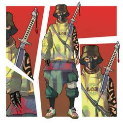 ADOPT [OPEN] x Street Ninja by CharlesWi