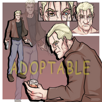 [OPEN] Adopt Auction x Brutal old man detective by CharlesWi