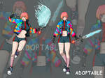 [OPEN] Adopt Auction x Warrior Street style Girl by CharlesWi