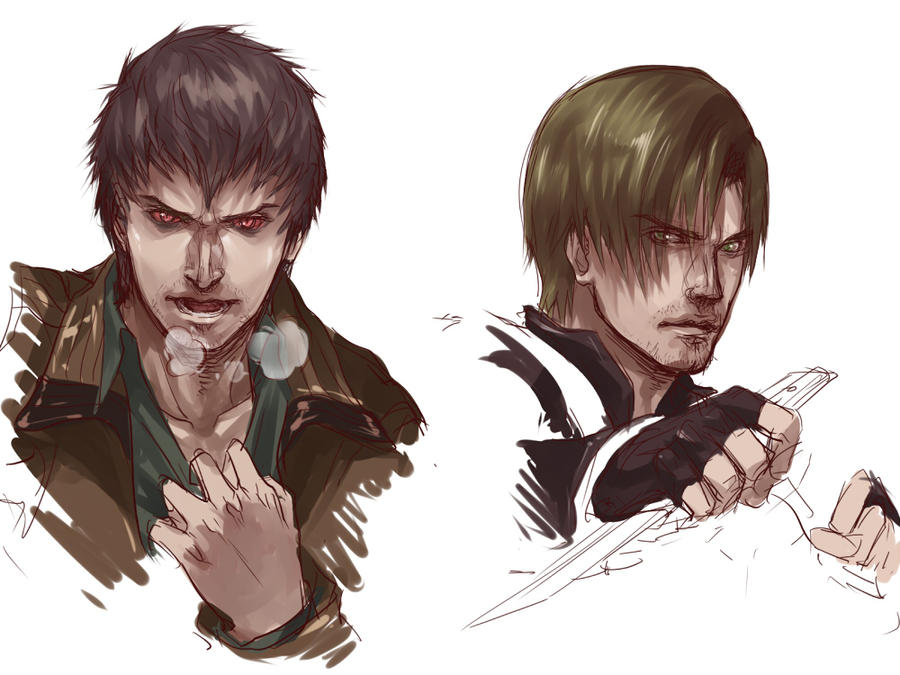 [Resident Evil:Damnation]Leon/Buddy by eilinna