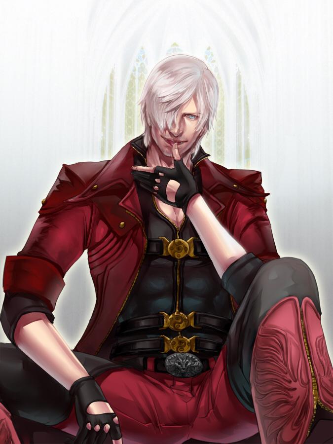 Dante In Dmc4 Colored Ver By Eilinna On Deviantart