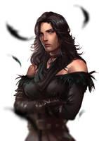 [Witcher 3] Yennefer by eilinna