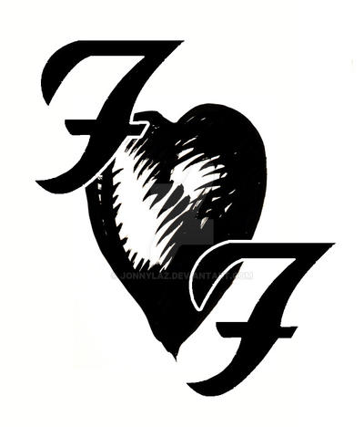 foo fighters tattoo by jonnylaz on deviantart. Black Bedroom Furniture Sets. Home Design Ideas