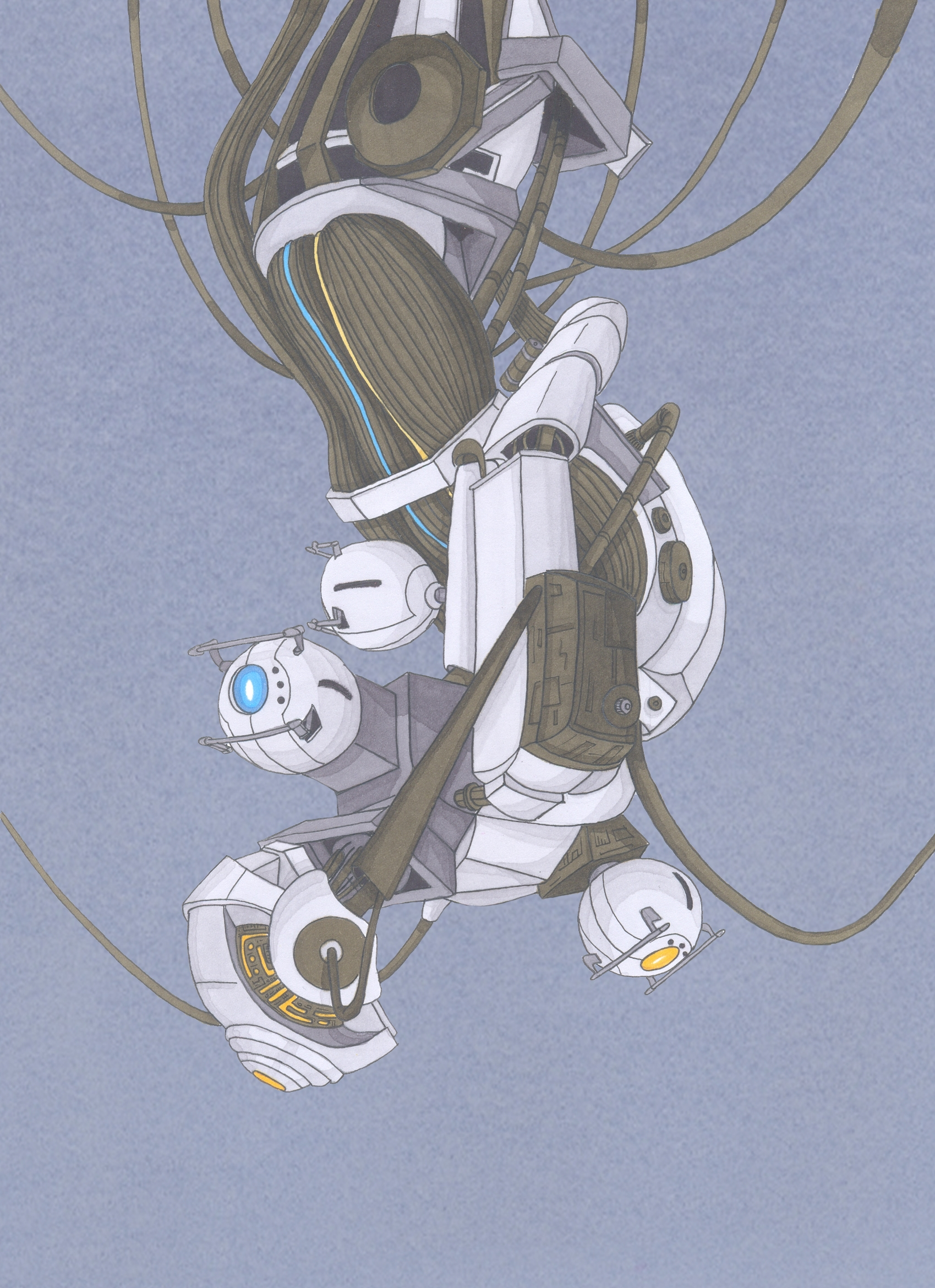 Glados By Nick Of The Dead On Deviantart