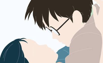 Jiro and Naoko - The Wind Rises - Fanart