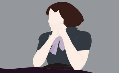 Edith Piaf in Contemplation
