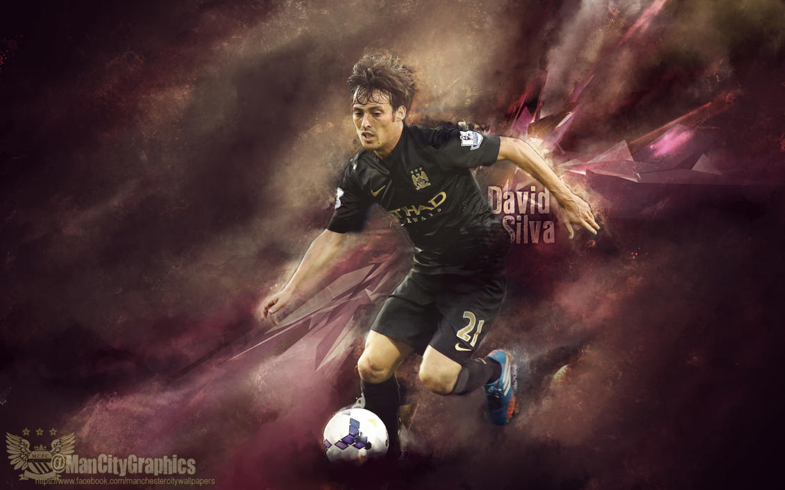 David Silva Wallpaper By ManCityGraphics On DeviantArt