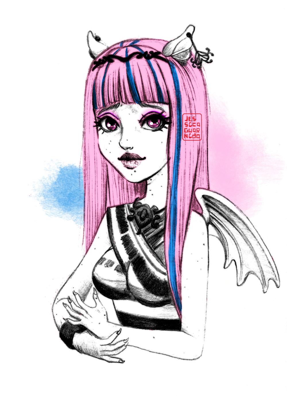 Monster High Rochelle by JessicaGuarnido on DeviantArt