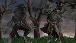 Werewolf Vs Vampire Lord Skyrim