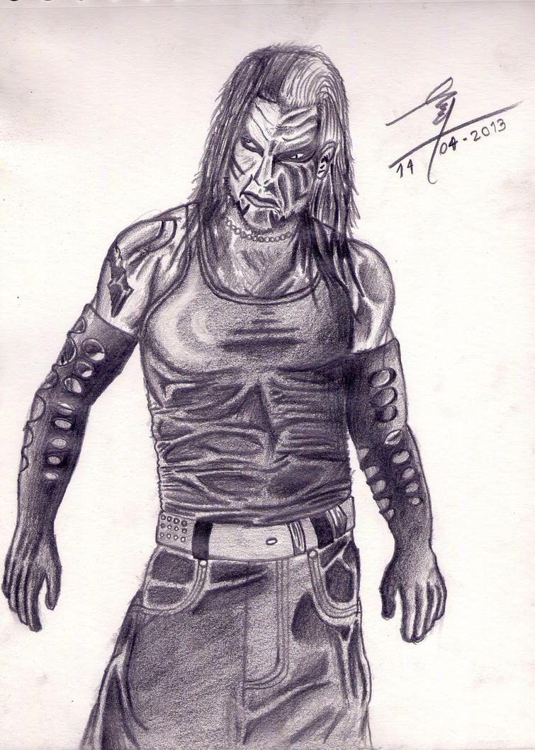 Jeff Hardy Drawing By Baalthankamaro On Deviantart Jeff Hardy Color Drawing