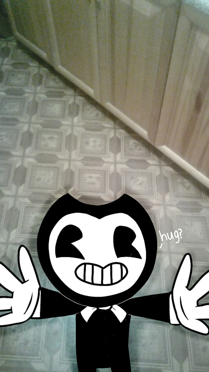 new night with Bendy :3 by AssassinSamanthaPaff