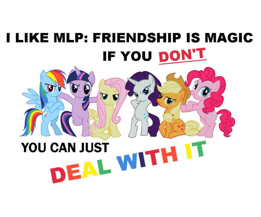 'Deal With It' Shirt by DementedStudios