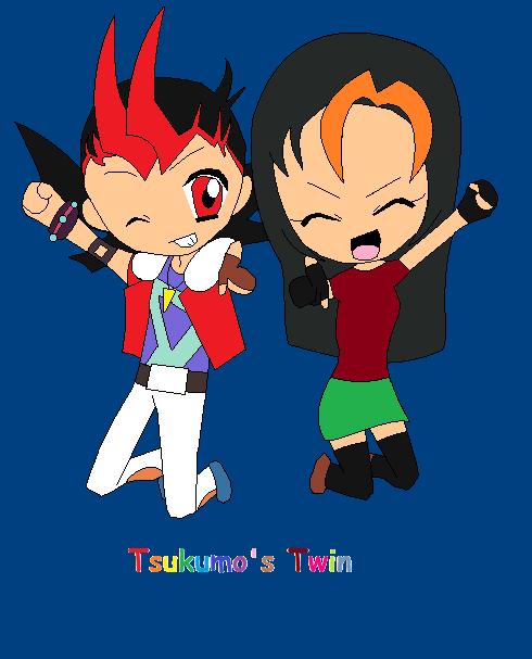 Tsukumo Twins by Gamesandanimations