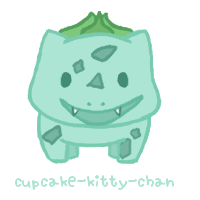 POKeMON 001: Bulbasaur by Cupcake-Kitty-chan