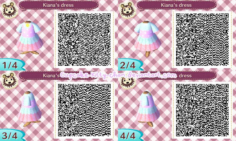 Qr Code Kiana S Dress By Sugary Stardust On Deviantart