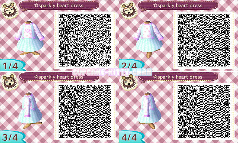 New Leaf Sparkly Heart Dress Qr By Sugary Stardust On Deviantart