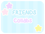 F2U - Starry Collabs . FRIENDS by Sugary-Stardust