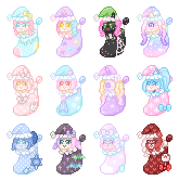Gifts || Stocking Stuffer Icons by Sugary-Stardust