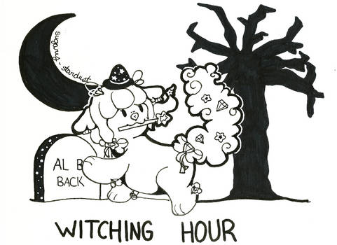 WISHFUL Inktober 09 | Witching Hour