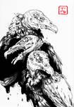 Inktober Day 10: Birds of Prey