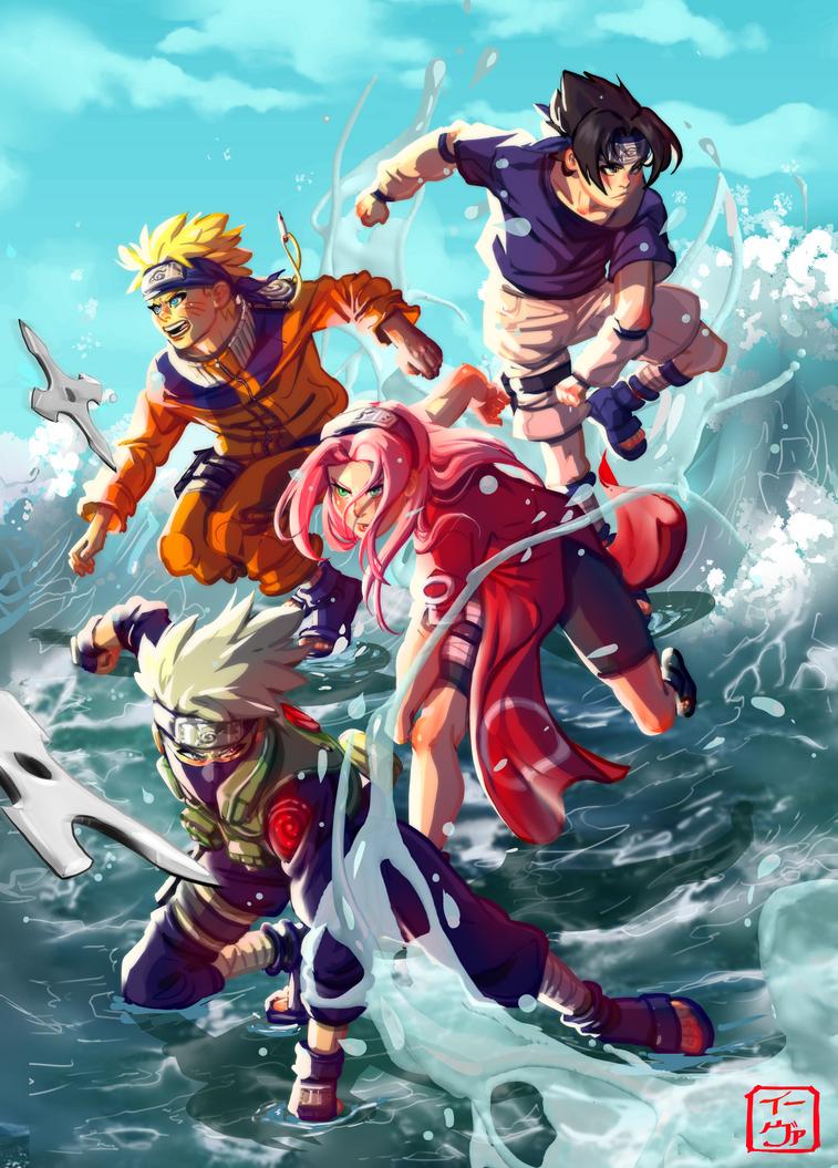 Team 7 by invisibleninja12