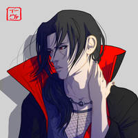 Itachi Doodle by invisibleninja12