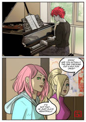 Sasosaku Month Day 16- The Musician by invisibleninja12