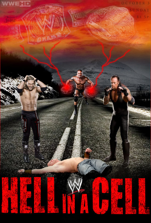 WWE Hell in a Cell 2010 Poster by ABatista93 by AhmedBatista1993