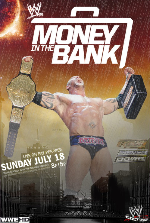 WWE Money in the Bank 2010 Poster by ABatista93 by AhmedBatista1993