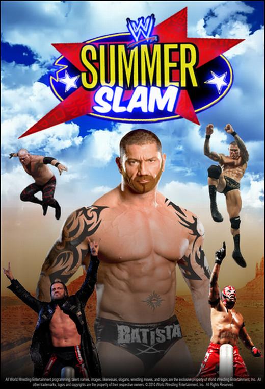 WWE SummerSlam 2010 Poster by ABatista93 by AhmedBatista1993