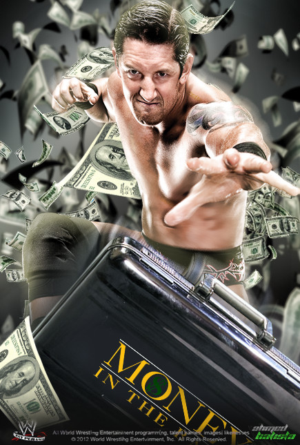 WWE Money in The Bank 2012 Poster by ABatista93 by AhmedBatista1993