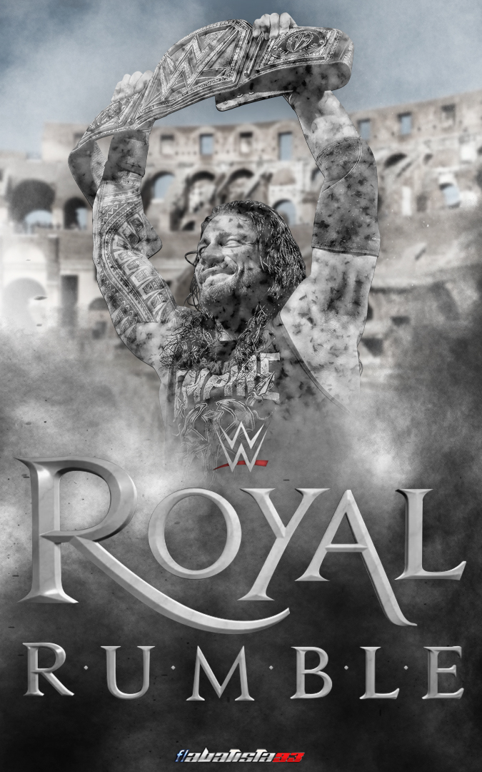 WWE Royal Rumble 2016 2nd poster by ABatista93 by AhmedBatista1993